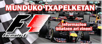 Fórmula1 2010tako mundukoa